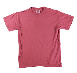 RGRiley | Mens Comfort Color Crimson Short Sleeve T-Shirts | Mill Graded