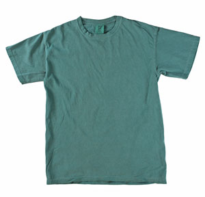 RGRiley | Mens Comfort Color Emerald Short Sleeve T-Shirts | Mill Graded