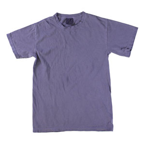 RGRiley | Mens Comfort Color Grape Short Sleeve T-Shirts | Mill Graded