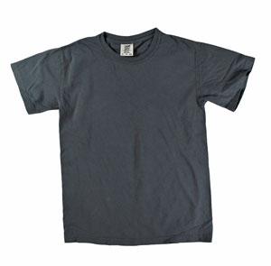 RGRiley | Mens Comfort Color Graphite Short Sleeve T-Shirts | Mill Graded