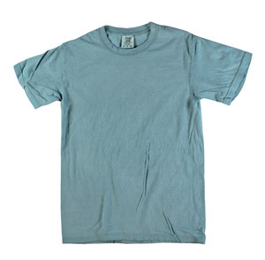 RGRiley | Mens Comfort Color Ice Blue Short Sleeve T-Shirts | Mill Graded
