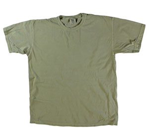 RGRiley | Mens Comfort Color Khaki Short Sleeve T-Shirts | Mill Graded