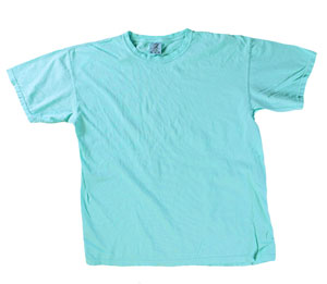 RGRiley | Mens Comfort Color Lagoon Short Sleeve T-Shirts | Mill Graded