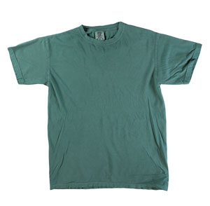 RGRiley | Mens Comfort Color Light Green Short Sleeve T-Shirts | Mill Graded