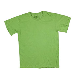 RGRiley | Mens Comfort Color Lime Short Sleeve T-Shirts | Mill Graded