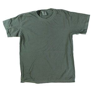 RGRiley | Mens Comfort Color Moss Short Sleeve T-Shirts | Mill Graded