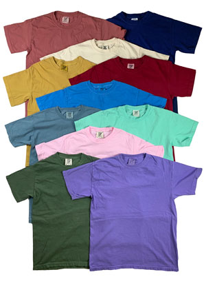 RGRiley | Mens Comfort Color Short Sleeve T-Shirts | Mill Graded