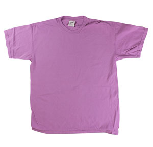 RGRiley | Mens Comfort Color Orchid Short Sleeve T-Shirts | Mill Graded