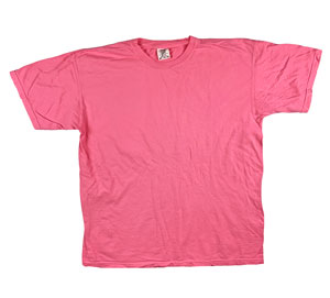 RGRiley | Mens Comfort Color Peony Short Sleeve T-Shirts | Mill Graded