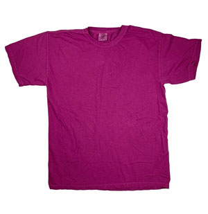 RGRiley | Mens Comfort Color Raspberry Short Sleeve T-Shirts | Mill Graded