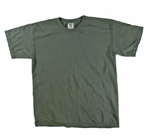 RGRiley | Mens Comfort Color Sage Short Sleeve T-Shirts | Mill Graded