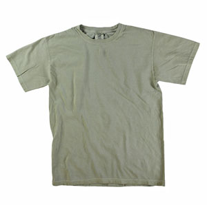 RGRiley | Mens Comfort Color Sandstone Short Sleeve T-Shirts | Mill Graded