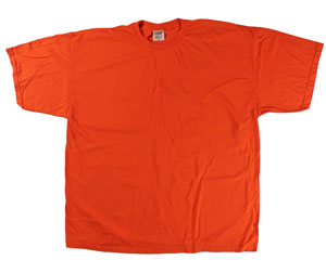 RGRiley | Mens Comfort Color Tangerine Short Sleeve T-Shirts | Mill Graded