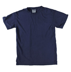 RGRiley | Mens Comfort Color True Navy Short Sleeve T-Shirts | Mill Graded