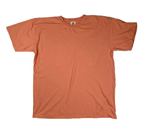 RGRiley | Mens Comfort Color Terracota Short Sleeve T-Shirts | Mill Graded