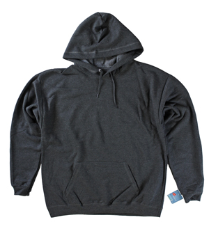 RGRiley | Mens Slate Heather Fleece Pullover Hooded Sweatshirts | Closeout