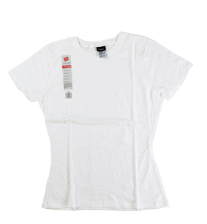 RGRiley.com | Womens White Crew T-Shirts | Closeout