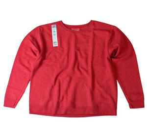 RGRiley | Womens Fleece Crew Neck Sweatshirts | Closeout