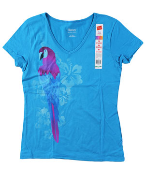 RGRiley | Womens Graphic V-Neck T-Shirts | Closeout