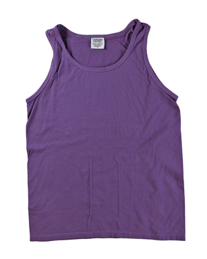RGRiley | Comfort Color Mens Black Raspberry Tank Tops | Closeout | Marginal
