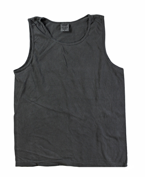 RGRiley | Comfort Color Mens Charcoal Tank Tops | Closeout | Marginal