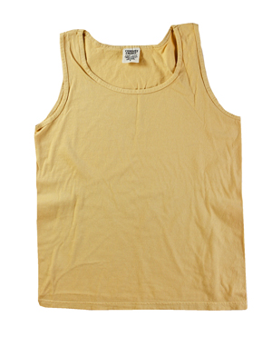 RGRiley | Comfort Color Mens Maize Tank Tops | Closeout | Marginal