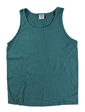RGRiley | Comfort Color Mens Teal Tank Tops | Closeout | Marginal