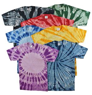 RGRiley | Youth Tie Dye Tee Shirts | Slightly Irregular
