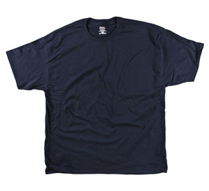 RGRiley | Mens Hanes Beefy Navy Tee Shirts | Closeout
