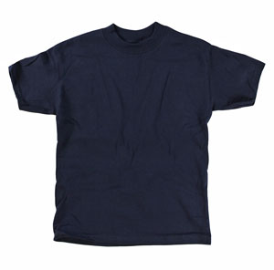 RGRiley | Youth Navy Blue Tee Shirts | Hanes Beefy Closoeut