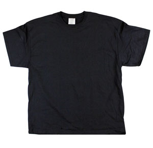 RGRiley.com | Adult Black T-Shirts | Slightly Irregular