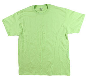 RGRiley | Mens Lime T-Shirts | Irregular