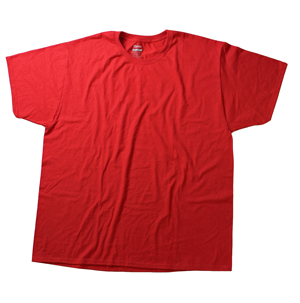 RGRiley.com | Adult Red T-Shirts | Slightly Irregular