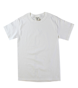 RGRiley | Mens Natural Short Sleeve T-Shirts | Irregular