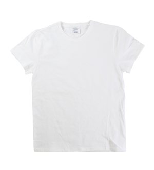 RGRiley | Womens White Short Sleeve T-Shirts | Slightly Irregular