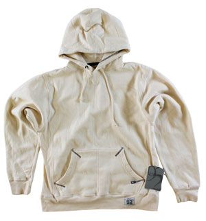 RGRiley | MensBulk  Pull Over Hood Off White | J. America Closeout