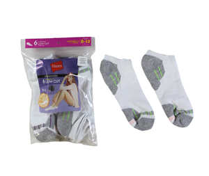RGRiley | Hanes Womens Footie Socks | Irregular