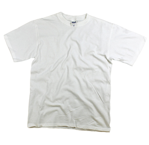 style WH779 |Mens 5.4 oz Heavy T's - White